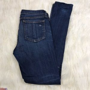 Rag & Bone Medium Wash Skinny Jeans Size 28